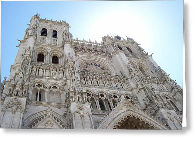 Notre-dame D'amiens Greeting Card