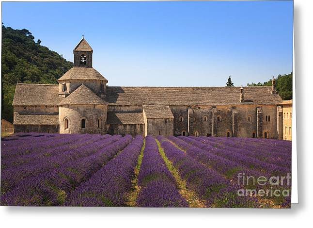 Notre-dame De Senanque  Abbey Provence France Greeting Card