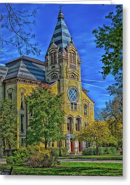 Notre Dame University Greeting Card