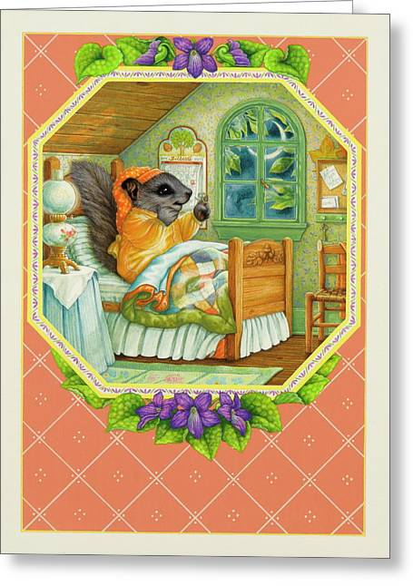 Now What Did I Forget? Greeting Card by Lynn Bywaters