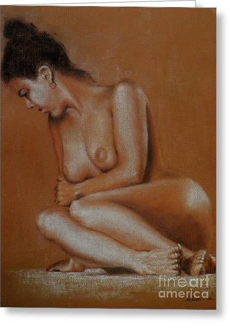 Nude Greeting Card