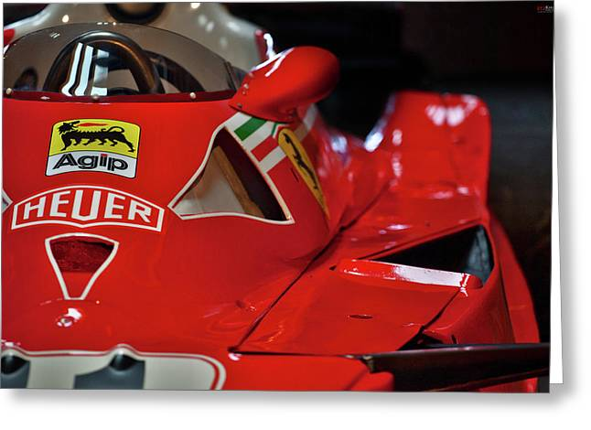 Number 11 By Niki Lauda #print Greeting Card