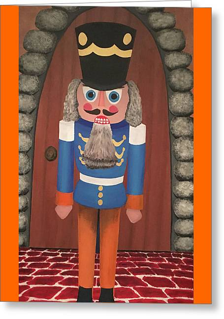 Greeting Card featuring the painting Nutcracker Sweet by Thomas Blood