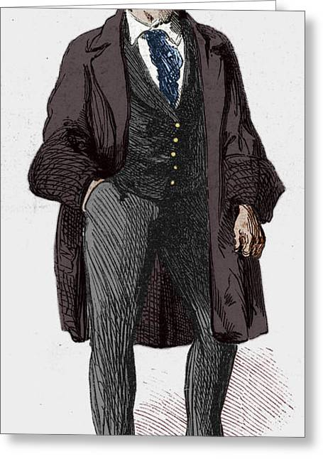 Ny Gangs: Bowery Boy, 1857 Greeting Card by Granger