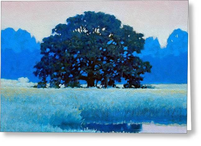 Oak Tree Greeting Card