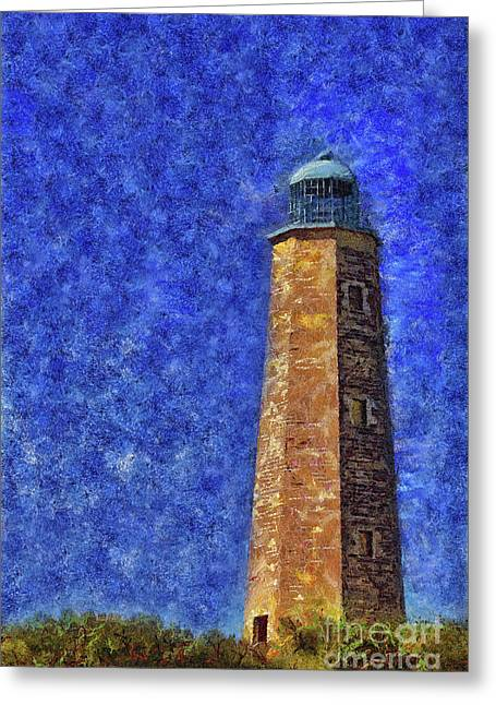Old Cape Henry Lighthouse Greeting Card