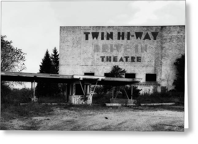 Old Drive In Theatre Greeting Card
