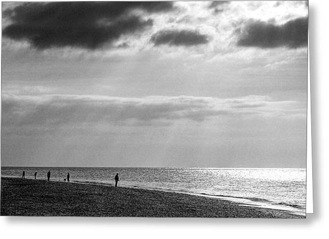 Old Hunstanton Beach, Norfolk Greeting Card