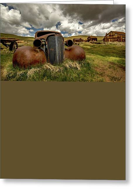 Old Jalopy Bodie State Park Greeting Card