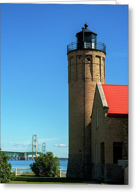 Old Mackinac Point Lighthouse Greeting Card
