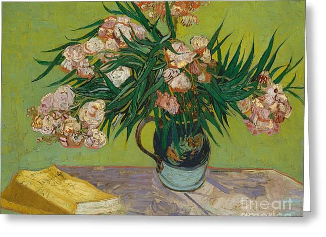 Oleanders, 1888 Greeting Card
