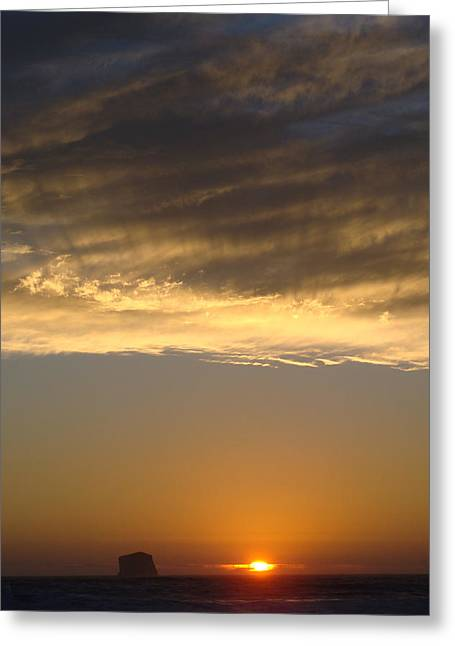 Olympic Sunset  Greeting Card by Ty Nichols
