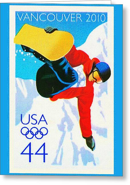 Olympic Winter Games Greeting Card