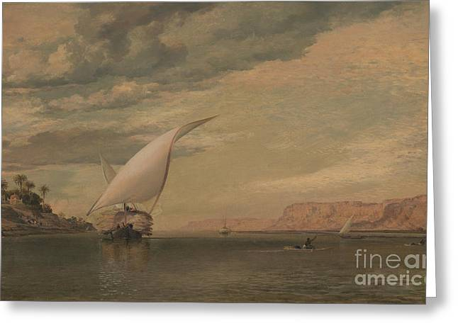 On The Nile Greeting Card by Celestial Images