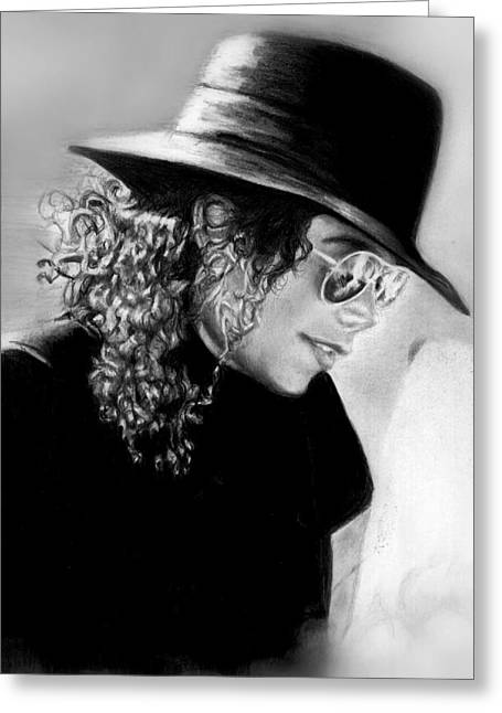 Mj Drawings Greeting Cards - On Vacation With Lisa  Greeting Card by Carliss Mora