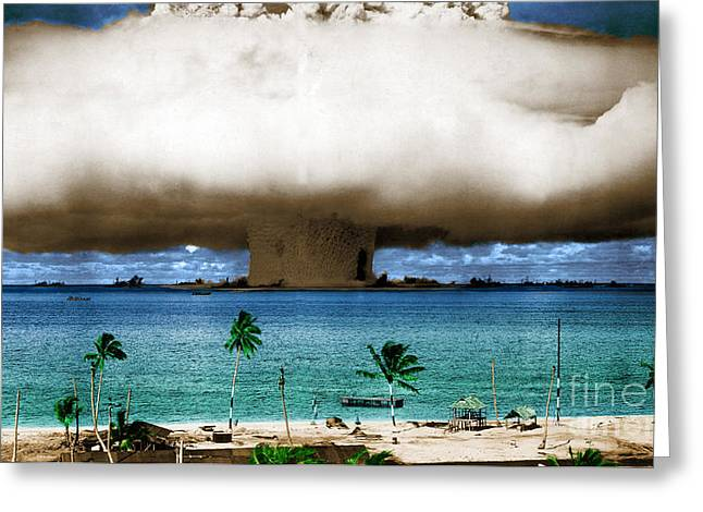 Operation Crossroads Baker, 1946 Greeting Card
