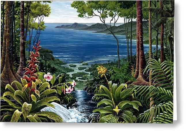 Osa Peninsula Costa Rica Greeting Card