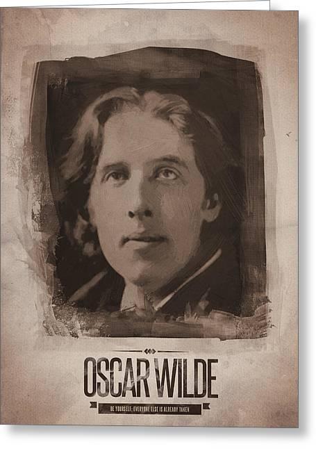 Oscar Wilde 01 Greeting Card