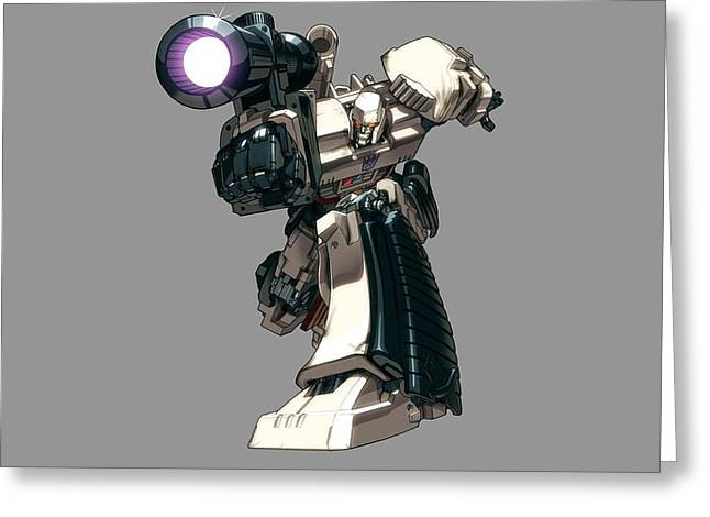 1 Other S Megatron Transformers                  Greeting Card by F S