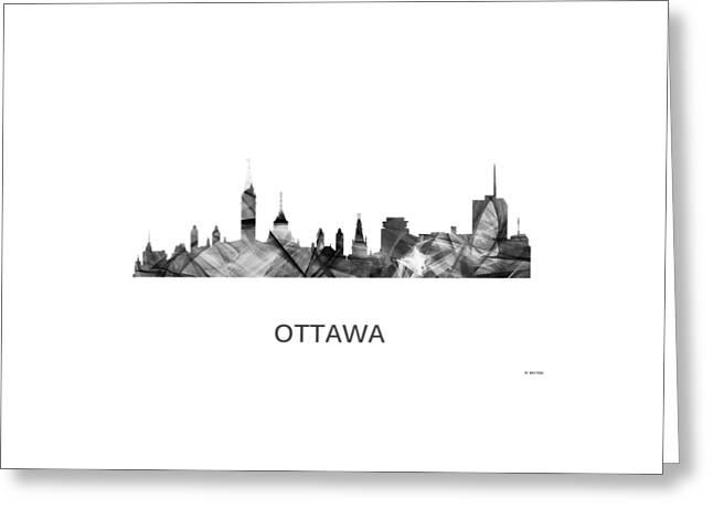 Ottawa Ont.skyline Greeting Card