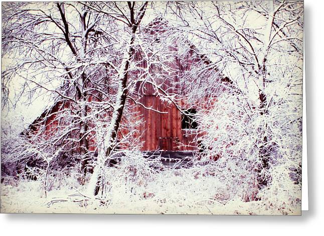 Our Barn  Greeting Card by Julie Hamilton