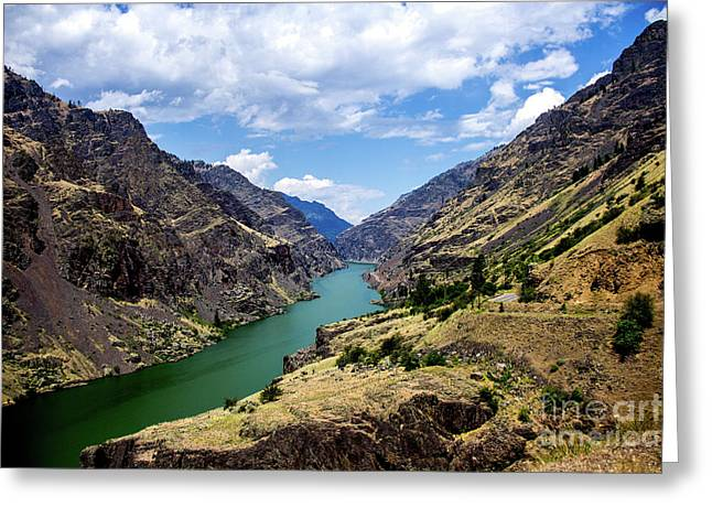 Oxbow Dam Tailwater Idaho Journey Landscape Photography By Kaylyn Franks  Greeting Card