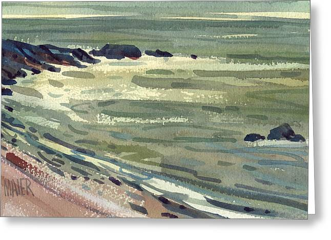Pacific Greeting Cards - Pacific Evening Greeting Card by Donald Maier