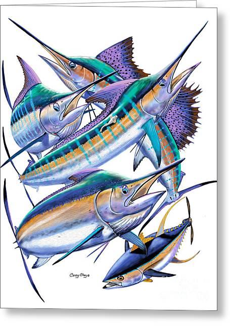 Pacific Gamefish  Greeting Card