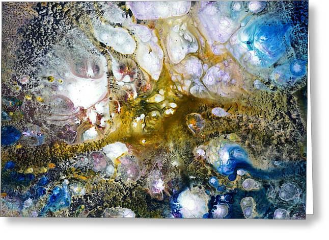 Laniakea Greeting Card by Ron Matzov