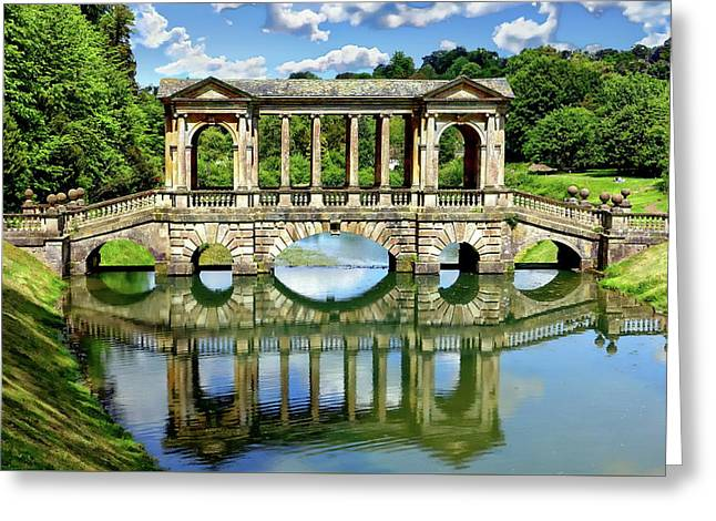 Palladian Bridge Nature Scene Greeting Card