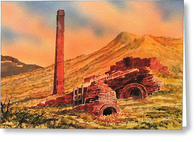 Panamint City Ghost Town California Greeting Card by Kevin Heaney