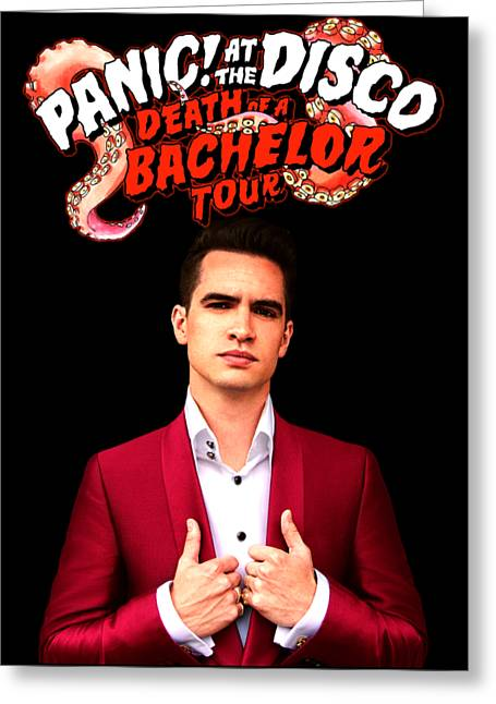 Panic At The Disco Greeting Card by Ming Chandra