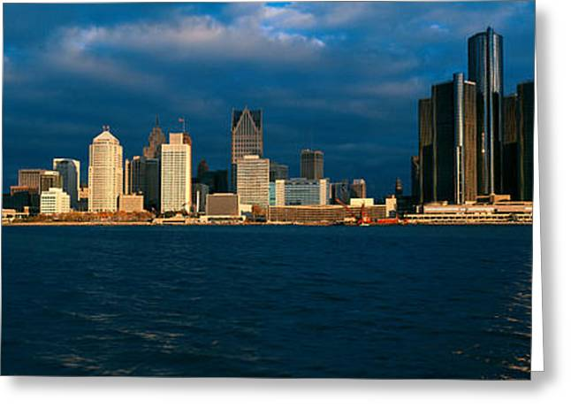 Panoramic Sunrise View Of Renaissance Greeting Card