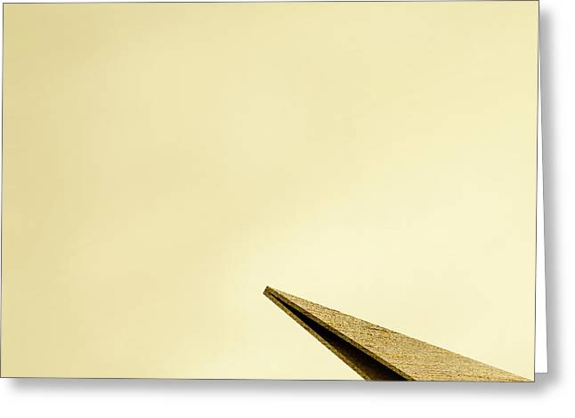 Paper Airplanes Of Wood 7-1 Greeting Card