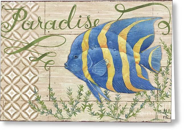 Paradise Reef Iv Greeting Card