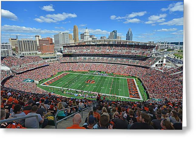 Paul Brown Stadium - Cincinnati Bengals Greeting Card