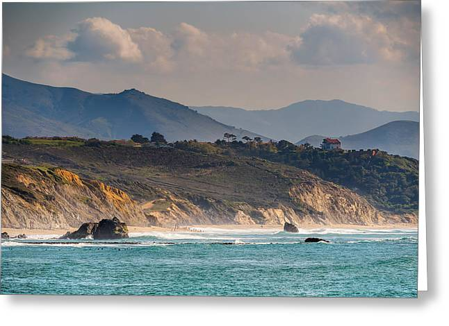 Greeting Card featuring the photograph Pays Basque by Thierry Bouriat