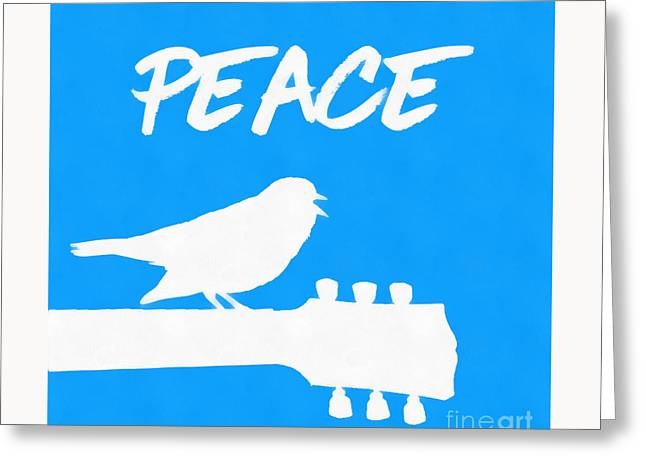 Peace Greeting Card by Edward Fielding