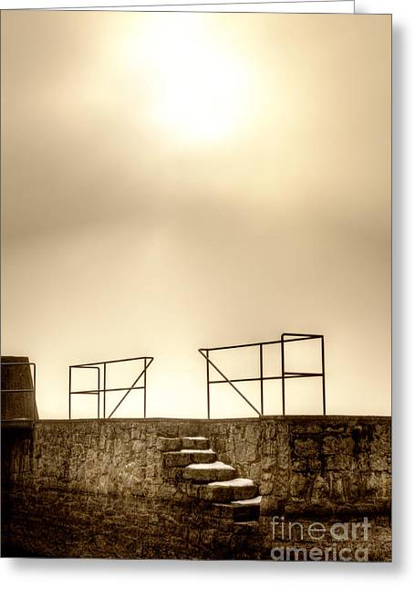 Peaceful Atmosphere Greeting Card by Christian Hallweger