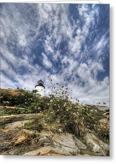 Pemaquid Light Greeting Card