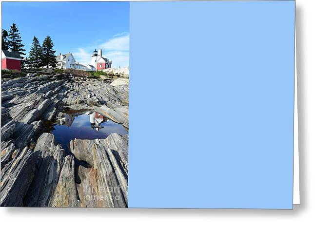 Pemaquid Point Light Greeting Card