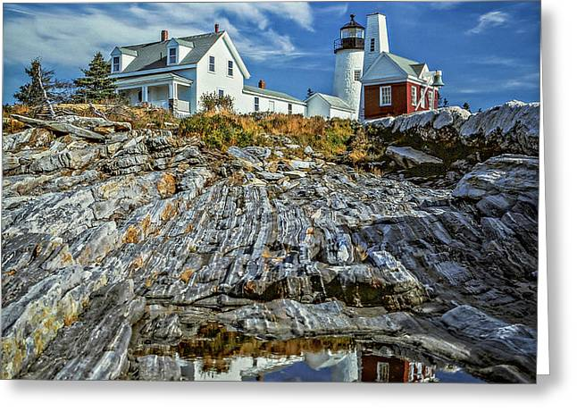 Pemaquid Reflections Greeting Card
