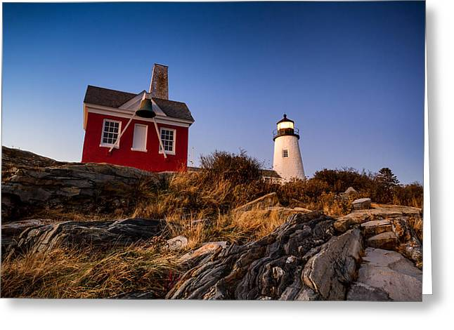 Greeting Card featuring the photograph Pemaquid Sky by Robert Clifford