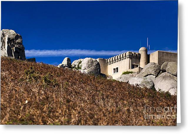 Peninha In Sintra Natural Park Greeting Card by Andre Goncalves