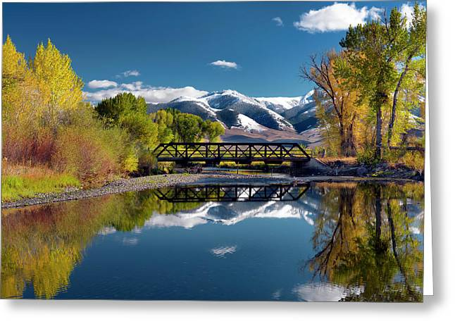 Perfect Autumn Day Greeting Card by Leland D Howard