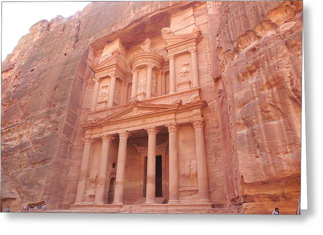 Petra Greeting Card by My Art