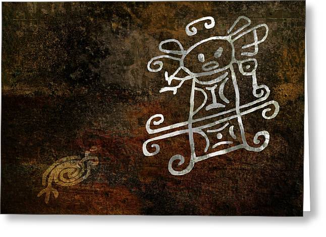 Petroglyph 1 Greeting Card