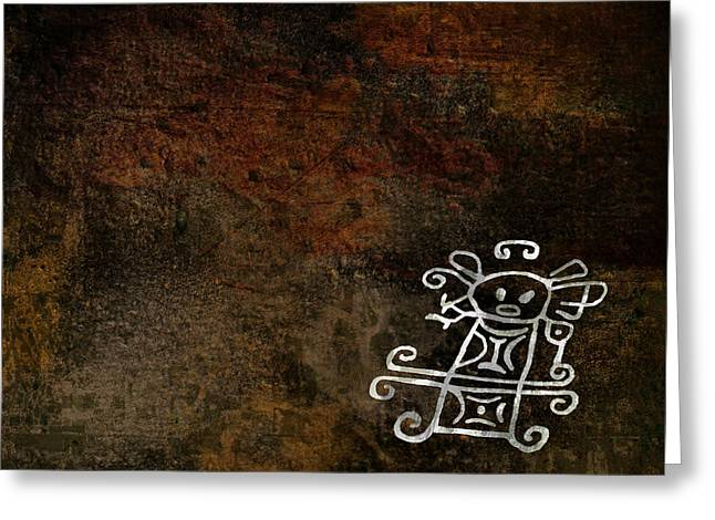 Petroglyph 2 Greeting Card