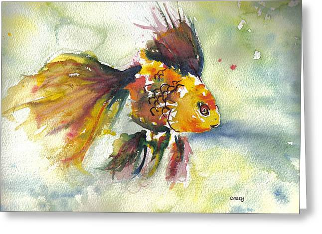 Phyco Fishy Greeting Card