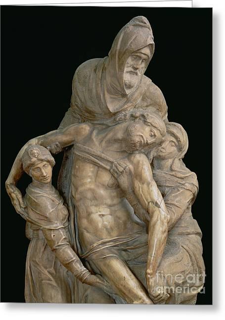 Pieta, 1553 Greeting Card